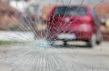 smashed windscreen repair